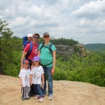 Our family enjoyed a trip to the Red River Gorge this summer. This was my last chance to go camping before baby #4 arrives.